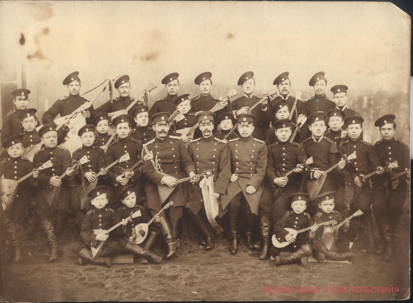 Балалаечный оркестр Школы солдатских детей